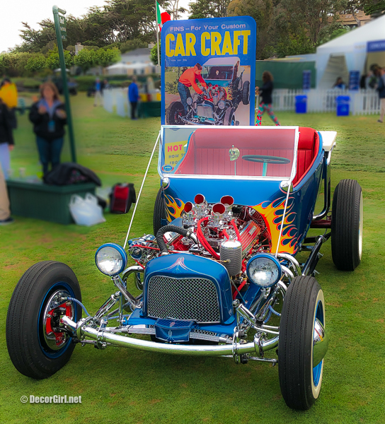 Historic Hot Rod Kookie Kart