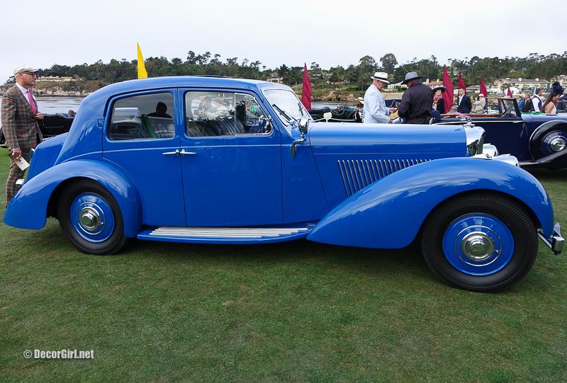 1939 Bentley 4 1/4 Litre Vanvooren Pillarless Saloon