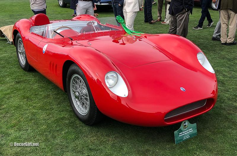 1956 Maserati 200SI Fantuzzi Sports Racer driven by Stirling Moss